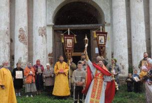 Престольный Праздник В Храме Святителя Николая Чудотворца село Вёска 2016 год