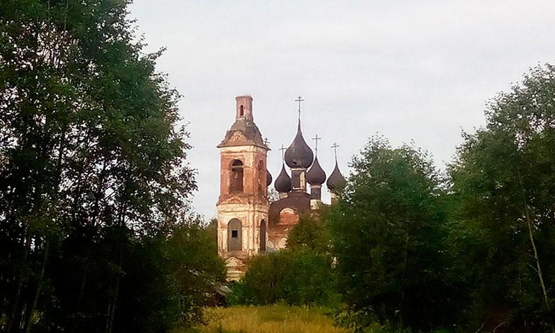 Богослужение в селе Марково Ярославская область 2017