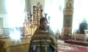 Иерей Александр Жестянников