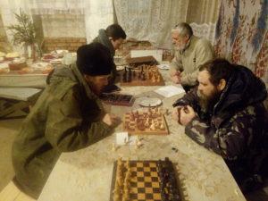 Шахматный турнир на Рождество январь 2018