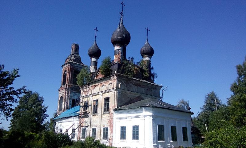 Село Марково Ярославская область Борисоглебский район 2018 год