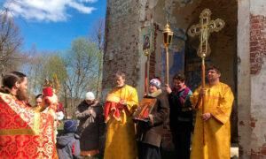 4 мая - Богослужение в с. Марково Борисоглебский район Ярославская область